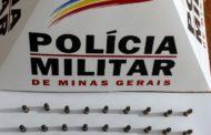 Homem detido por posse ilegal de arma em Abre Campo