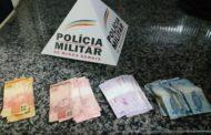 Militares prendem autor e recuperam dinheiro roubado em posto de combustíveis