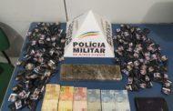 Apreensões de drogas registradas em Realeza e no bairro São Francisco de Assis