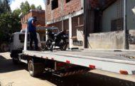 Moto furtada recuperada no bairro São Francisco de Assis