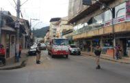 Atropelamento com vítima fatal na Baixada em Manhuaçu