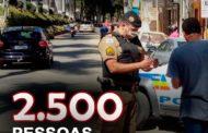 11° BPM divulga os resultados da Operação Narco Brasil