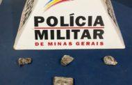 Acusado de tráfico preso e droga apreendida no bairro Santana