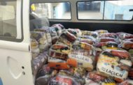 Salve – Unidos Contra a Fome: Comunidade Terapêutica e Lar dos Idosos recebem cestas básicas