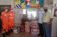 Lar São Sebastião recebe doação de alimentos