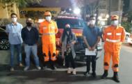 CREAS, Bombeiros e Defesa Civil realizam ação de proteção a pessoas em situação de rua