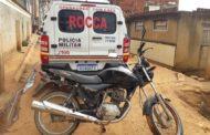 Motocicleta furtada em Simonésia encontrada no bairro Santa Terezinha
