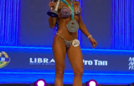 Personal Gisele Guedes é vice-campeã brasileira de fisiculturismo