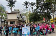 Setembro Verde: Caminhada mobiliza população para a inclusão e o gesto solidário