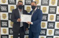 Vereador Inspetor Juninho Linhares é homenageado pela Polícia Civil em Ipatinga