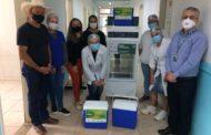 Prefeitura de Orizânia recebe Câmara Fria doada pela CEMIG para armazenamento de vacinas contra COVID-19