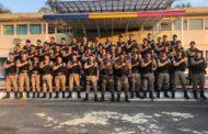 Polícia Militar realiza treinamento para utilização de instrumentos de menor potencial ofensivo