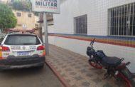 Em ação rápida, PM recupera motocicleta furtada e apreende menores