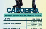 Prefeitura de Orizânia abre oficinas de capoeira do CRAS nesta quinta-feira (21)